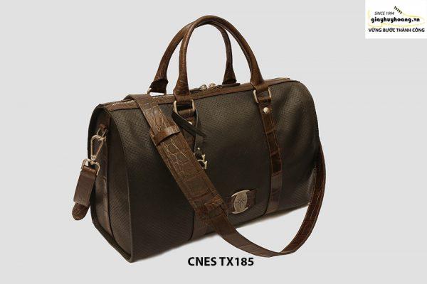 Túi xách du lịch da bò cho nữ hàng hiệu CNES TX185 0021