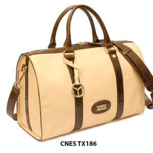 Túi xách du lịch da bò cho nữ chính hãng CNES TX186 002