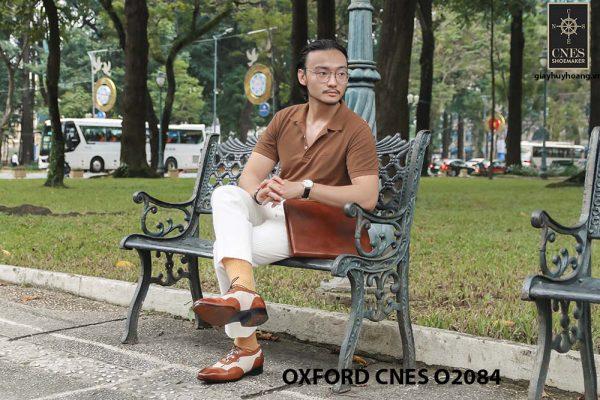 Giày tây nam thiết kế sáng tạo đẹp Oxford O2084 006