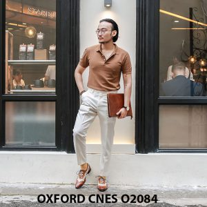 Giày tây nam thiết kế sáng tạo đẹp Oxford O2084 004