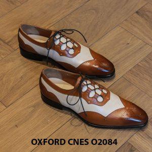 Giày tây nam thiết kế sáng tạo đẹp Oxford O2084 001