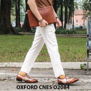 Giày tây nam thiết kế sáng tạo đẹp Oxford O2084 003