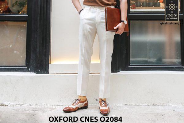 Giày tây nam thiết kế sáng tạo đẹp Oxford O2084 002