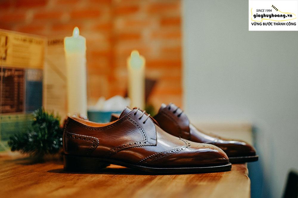Shop bán giày derby nam thủ công nhiều mẫu nhất tại TPHCM