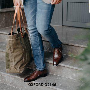 Giày da nam hàng hiệu được yêu thích Oxford O2146 002
