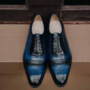 Giày da nam buộc dây thời trang Oxford O2147 001
