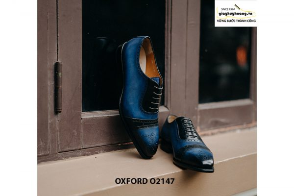 Giày da nam buộc dây thời trang Oxford O2147 003
