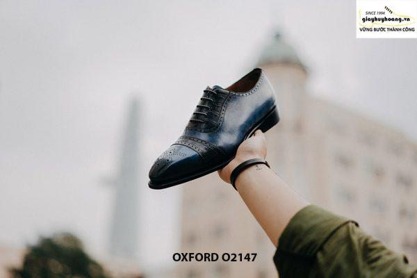 Giày da nam buộc dây thời trang Oxford O2147 002