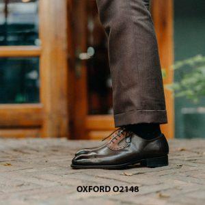 Giày da nam đặt theo yêu cầu tại tphcm Oxford O2148 005
