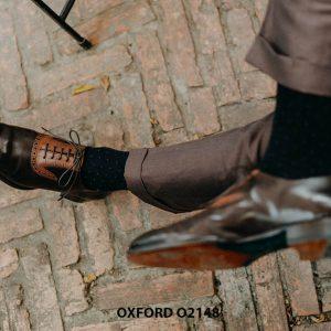 Giày da nam đặt theo yêu cầu tại tphcm Oxford O2148 004