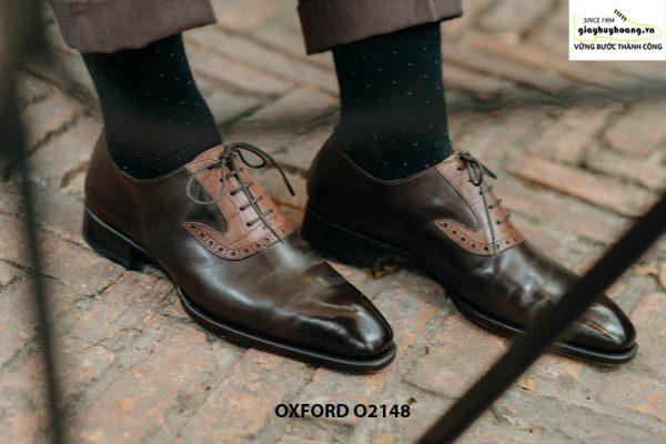 Giày da nam đặt theo yêu cầu tại tphcm Oxford O2148 001