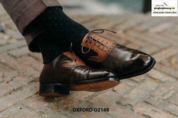 Giày da nam đặt theo yêu cầu tại tphcm Oxford O2148 003
