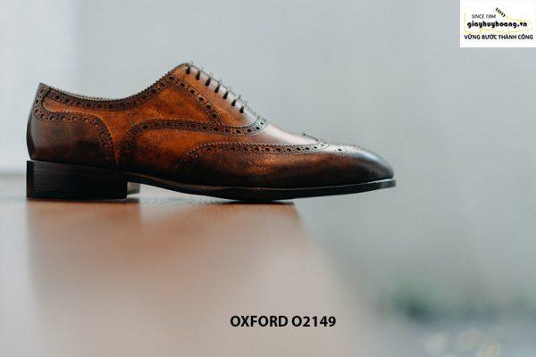 Giày da nam giúp bạn đẹp hơn Oxford O2149 004