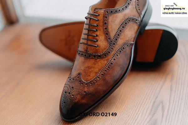 Giày da nam giúp bạn đẹp hơn Oxford O2149 003