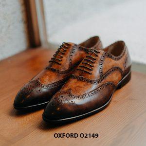Giày da nam giúp bạn đẹp hơn Oxford O2149 002
