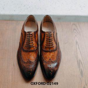 Giày da nam giúp bạn đẹp hơn Oxford O2149 001