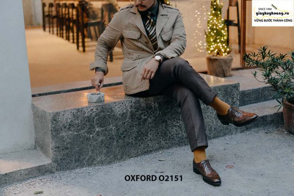 Giày tây nam giúp bạn sang trọng Oxford O2151 004