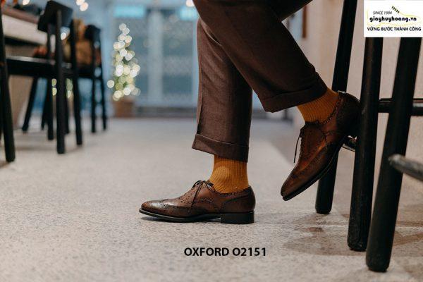 Giày tây nam giúp bạn sang trọng Oxford O2151 001