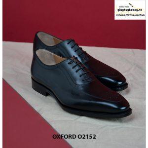 Giày tây nam khâu đế Goodyear Welted Oxford O2152 001