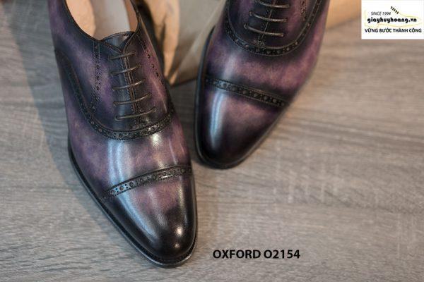 Giày tây nam thủ công handmade Oxford O2154 004