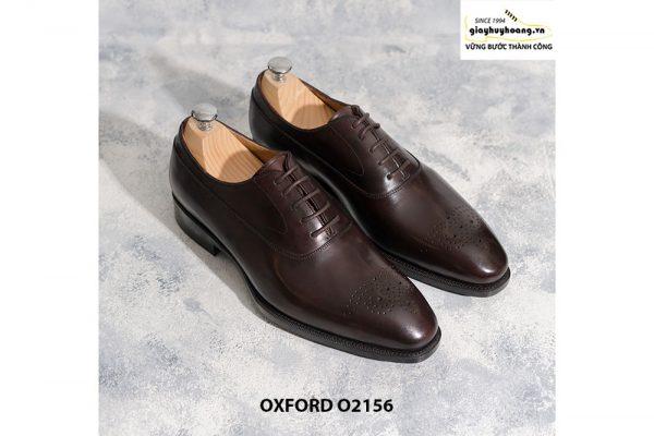 Giày tây nam thiết kế theo yêu cầu Oxford O2156 004