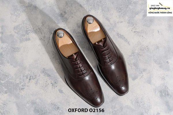 Giày tây nam thiết kế theo yêu cầu Oxford O2156 001