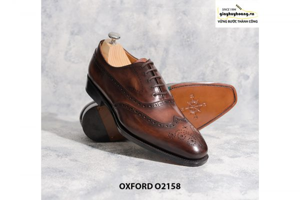 Giày tây nam trông bạn bảnh trai hơn Oxford O2158 006