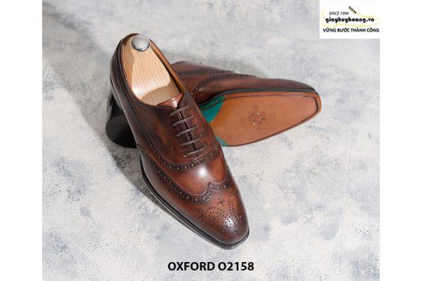 Giày tây nam trông bạn bảnh trai hơn Oxford O2158 005