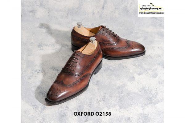 Giày tây nam trông bạn bảnh trai hơn Oxford O2158 002