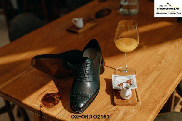 Giày tây nam đẹp sáng bóng Oxford O2161 006