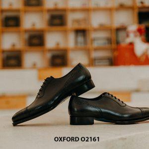 Giày tây nam đẹp sáng bóng Oxford O2161 001