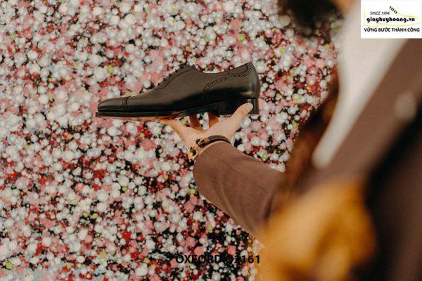 Giày tây nam đẹp sáng bóng Oxford O2161 002