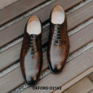 Giày tây nam cho chàng yêu thích chất lượng Oxford O2162 001