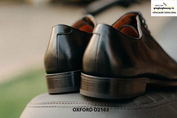 Giày tây nam đế da khâu Goodyear Welted Oxford O2163 005