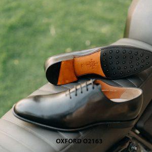 Giày tây nam đế da khâu Goodyear Welted Oxford O2163 003