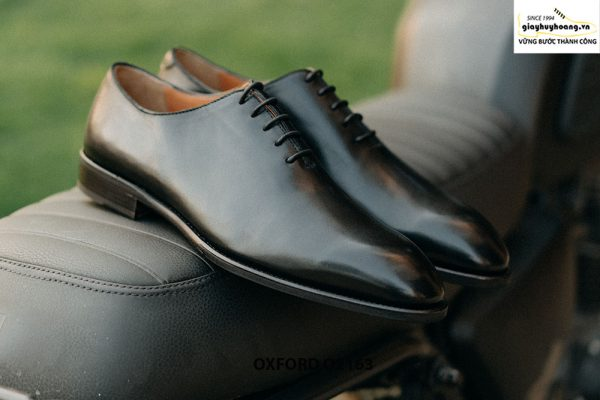 Giày tây nam đế da khâu Goodyear Welted Oxford O2163 002