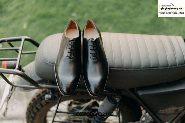 Giày tây nam đế da khâu Goodyear Welted Oxford O2163 001