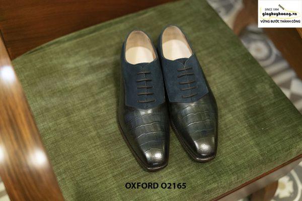 Giày tây nam Việt Nam thiết kế Oxford O2165 001