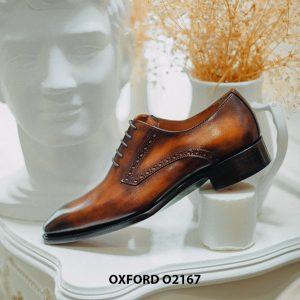Giày tây nam da bò thật cao cấp Oxford O2167 007