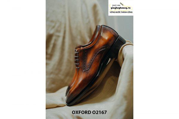 Giày tây nam da bò thật cao cấp Oxford O2167 004