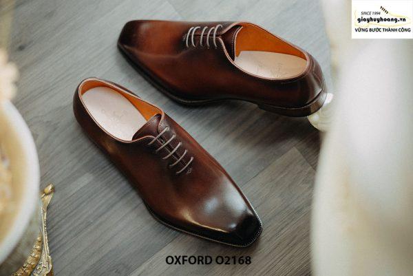 Giày tây nam xịn hàng hiệu Oxford O2168 002