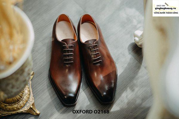 Giày tây nam xịn hàng hiệu Oxford O2168 001