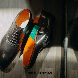 Giày tây nam cao cấp tăng chiều cao Oxford O2169 002