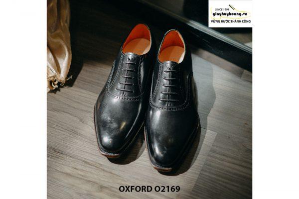 Giày tây nam cao cấp tăng chiều cao Oxford O2169 001