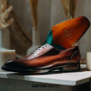 Giày tây nam trẻ trung phong cách Oxford O2171 005