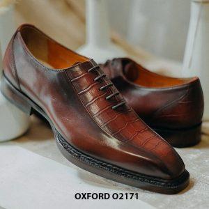 Giày tây nam trẻ trung phong cách Oxford O2171 001
