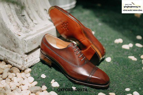 Giày tây nam mua 1 dùng cả đời Oxford O2174 005