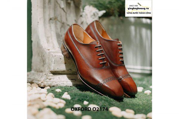 Giày tây nam mua 1 dùng cả đời Oxford O2174 003