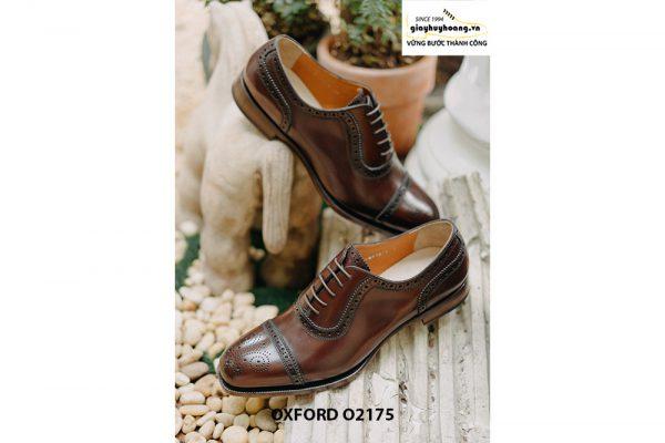 Giày tây nam phong cách đỉnh captoe Oxford O2175 004
