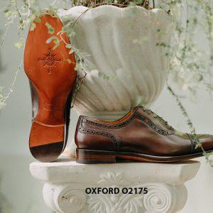 Giày tây nam phong cách đỉnh captoe Oxford O2175 003